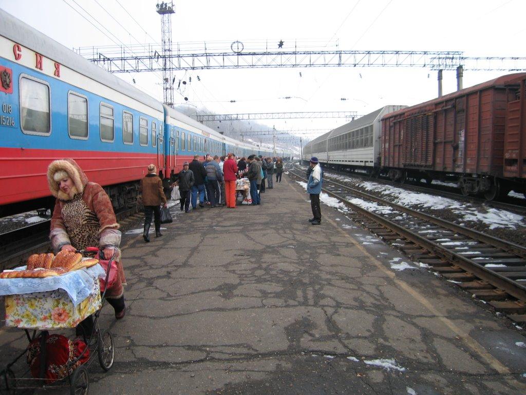 Brief stop at Obluche, Облучье