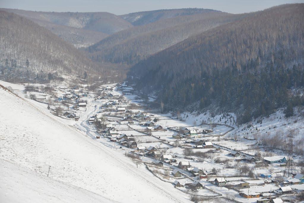 Obluchye (2013-02) - Look around from uphill, Облучье