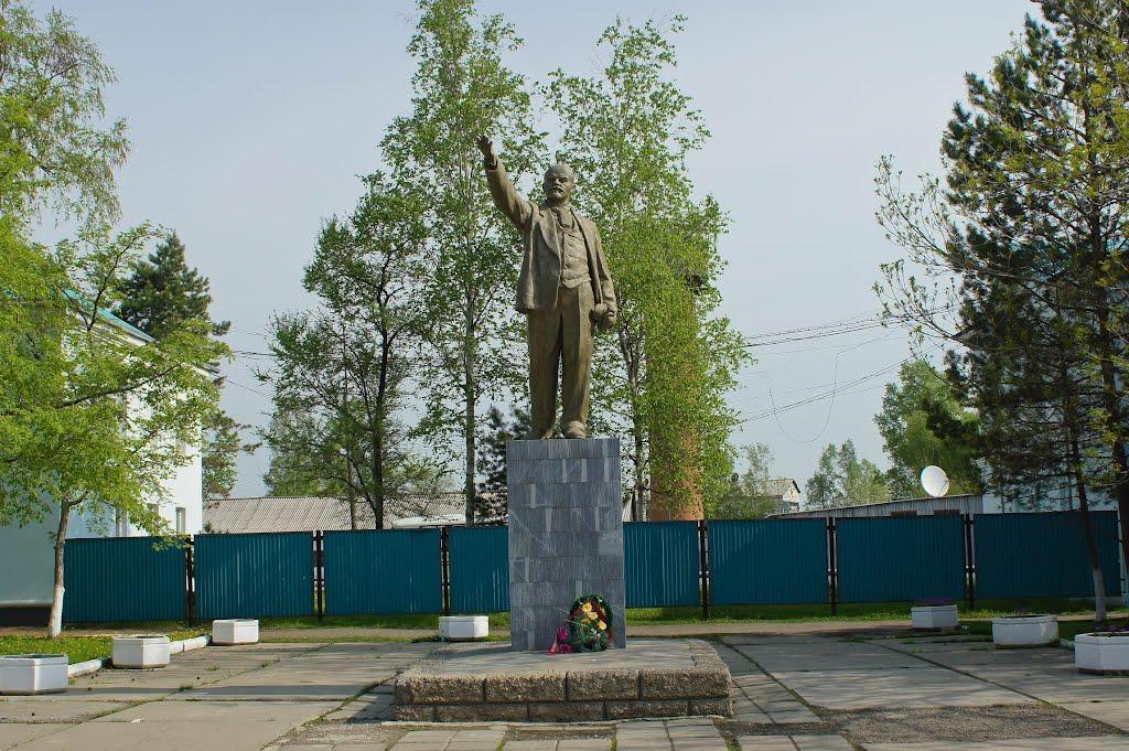 Памятник Ленину, Переяславка