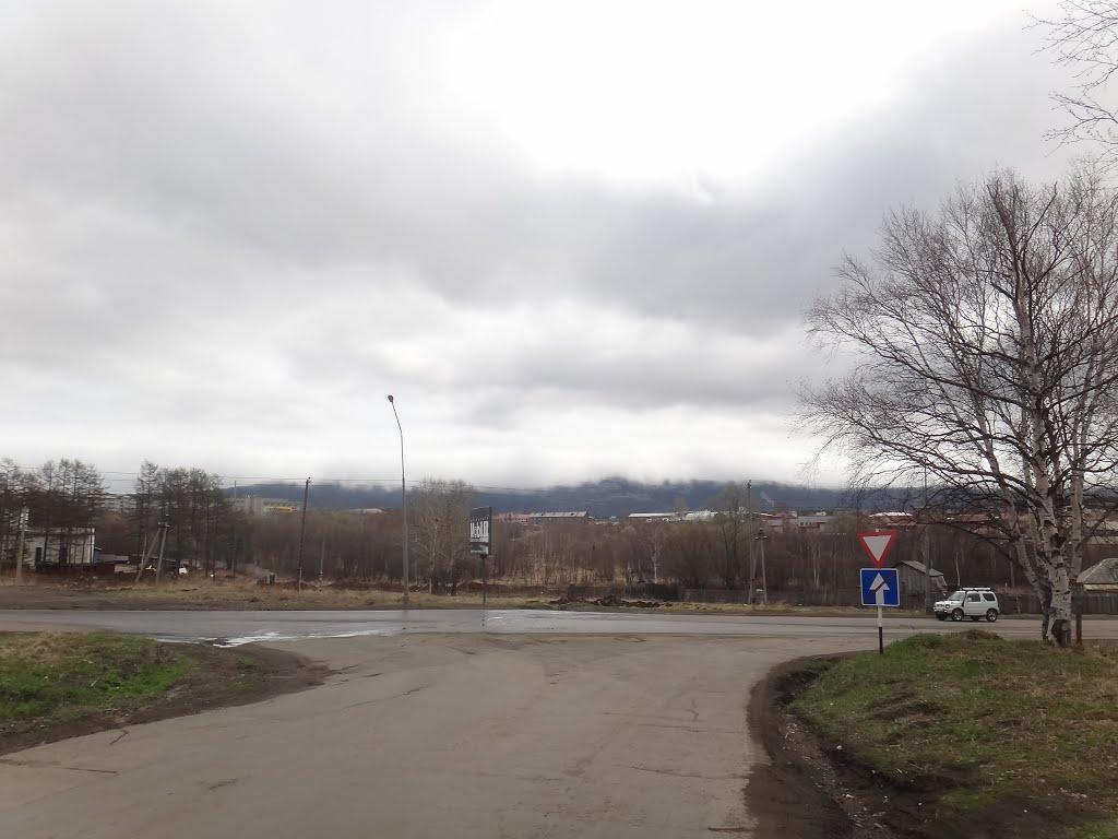 Горы в облаках, Советская Гавань