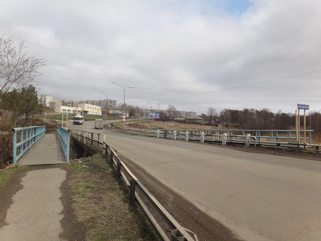 Мост через Малую Окочу, Советская Гавань
