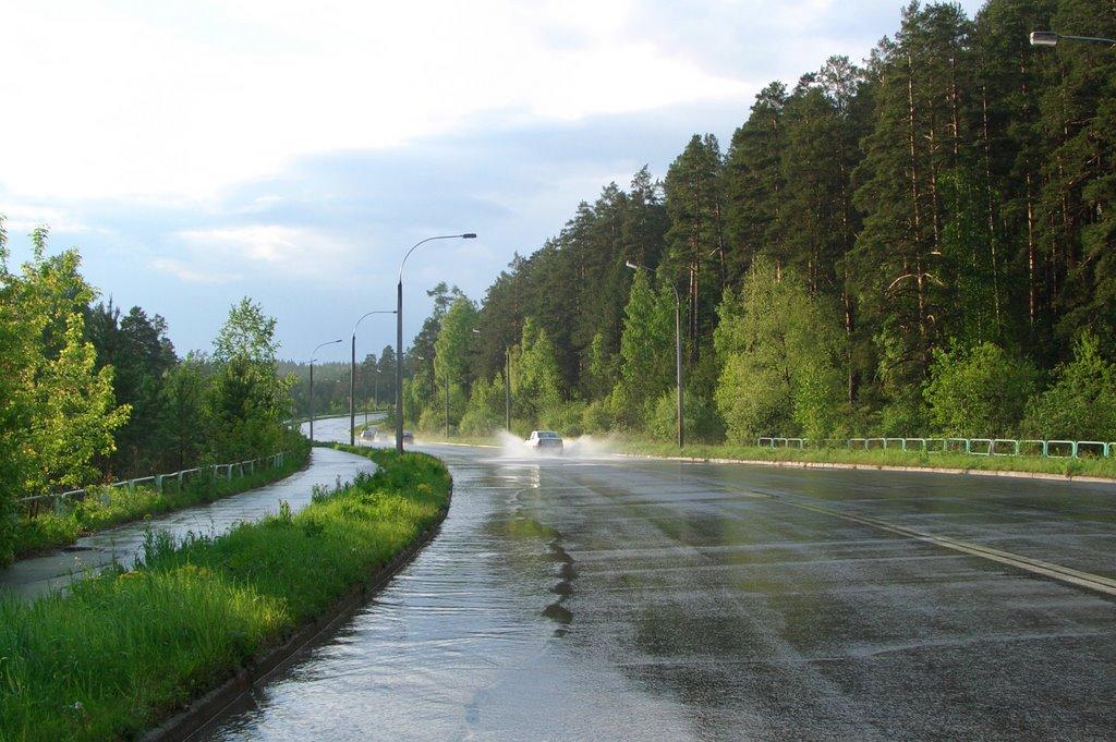 Дорога в город, Трехгорный