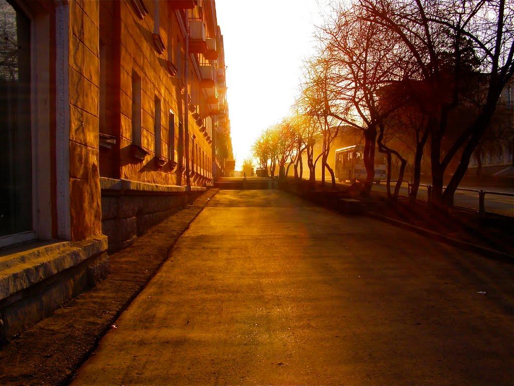 улица Ленина дом 5, Трехгорный