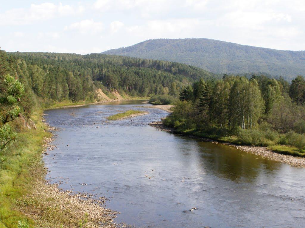 Река Юрюзань, Трехгорный