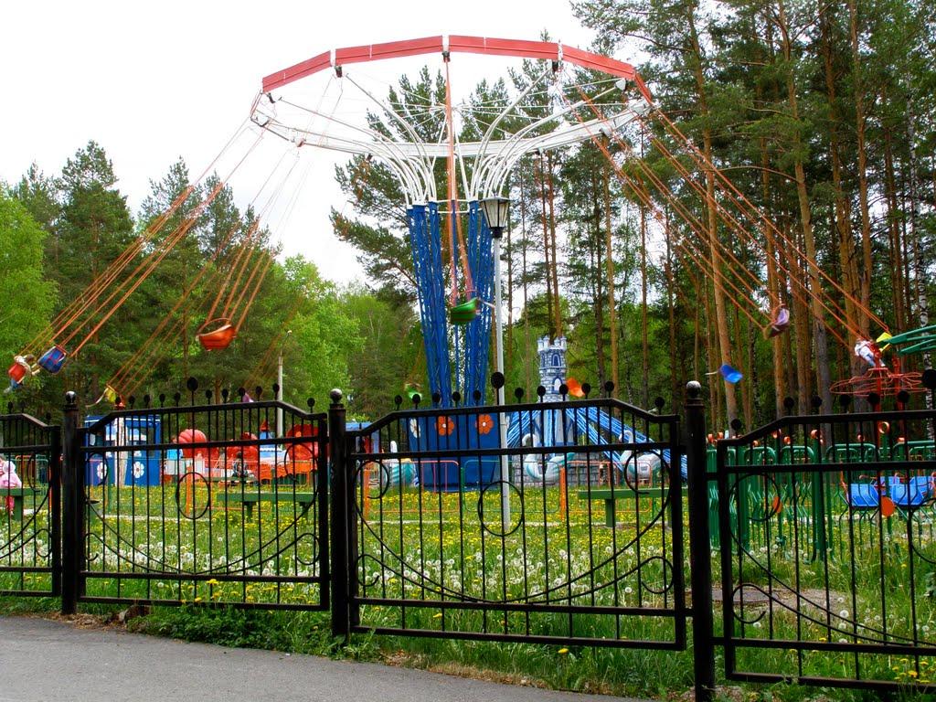 карусели, Трехгорный