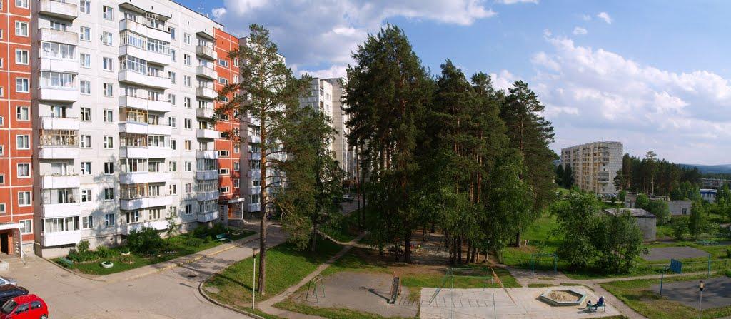 двор 22го дома, Трехгорный