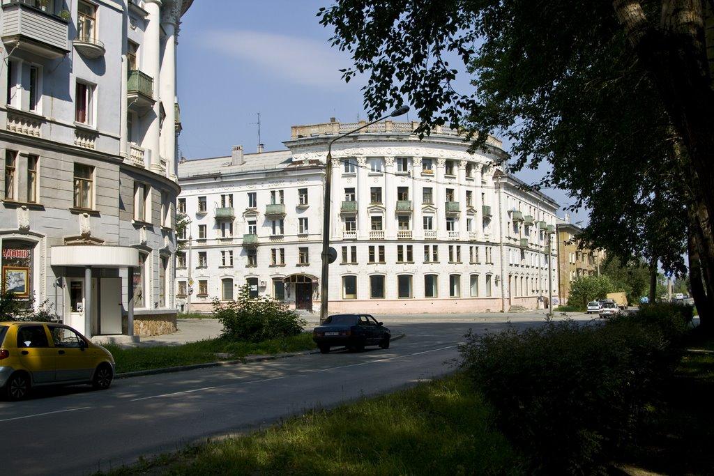 Ozersk, Gertsena str., Aug-2008, Озерск