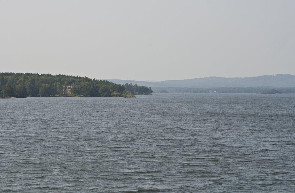 Ozersk, Irtyash lake, Aug-2008, Озерск