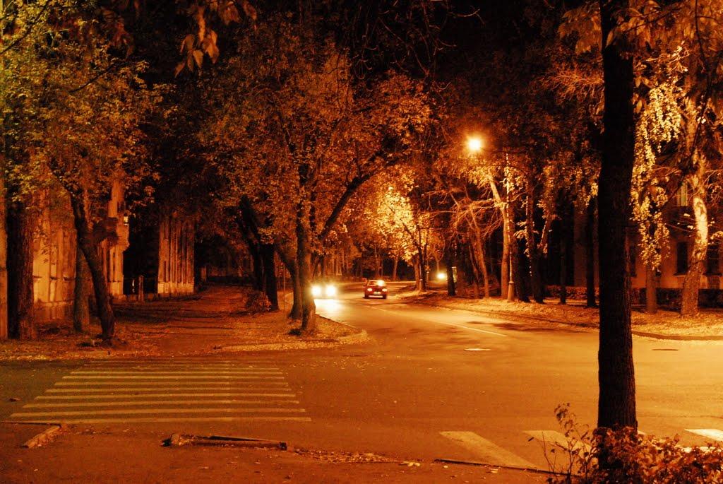 autumn evening, Озерск