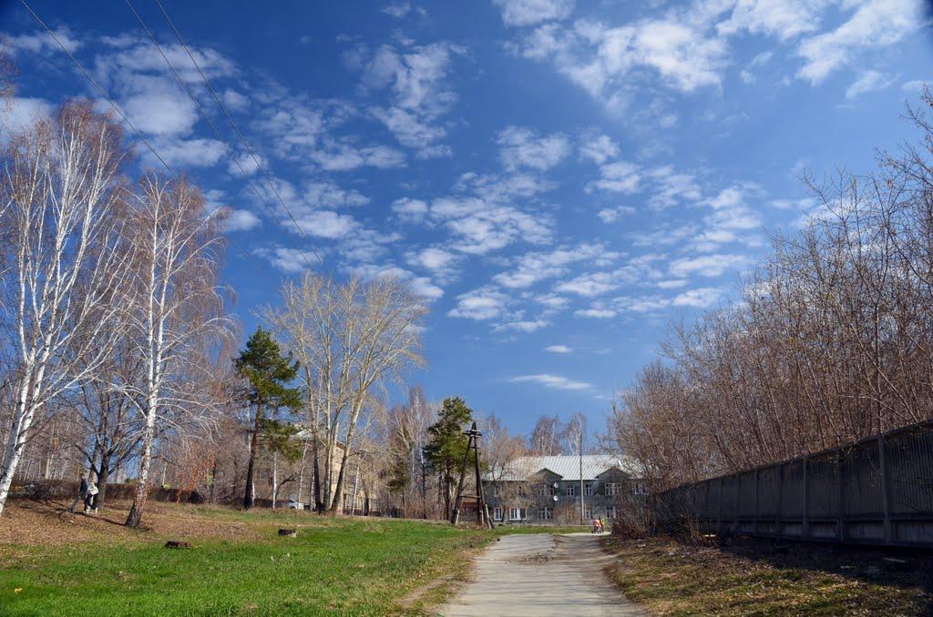 old road, Озерск