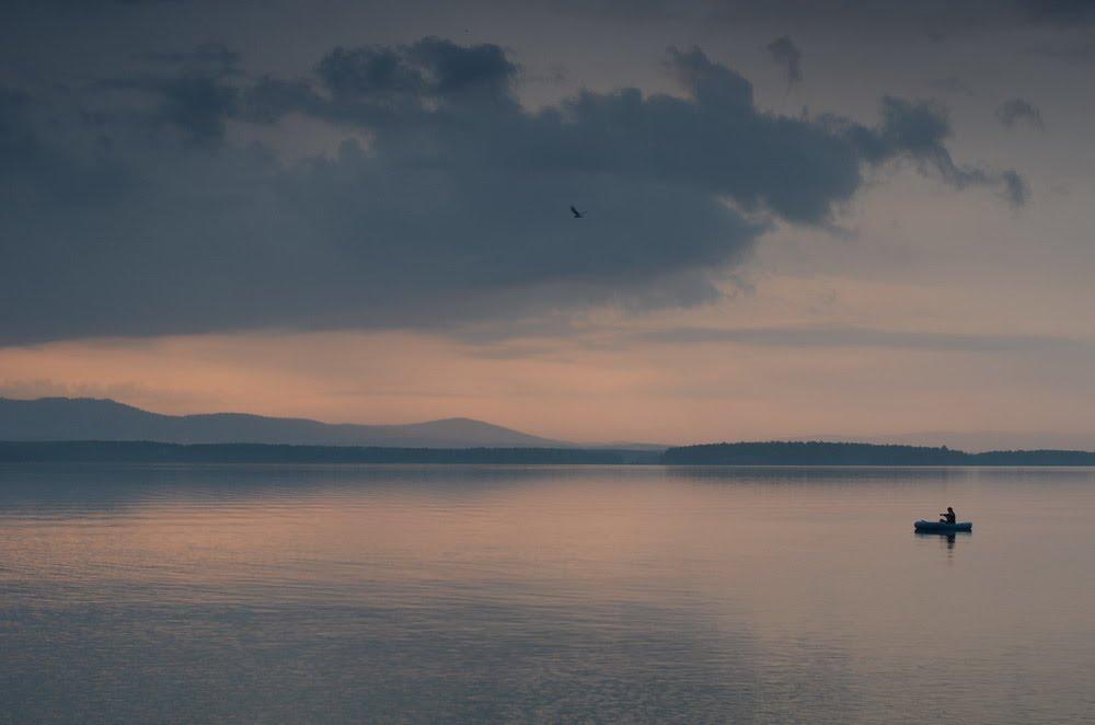 lone fisherman, Озерск
