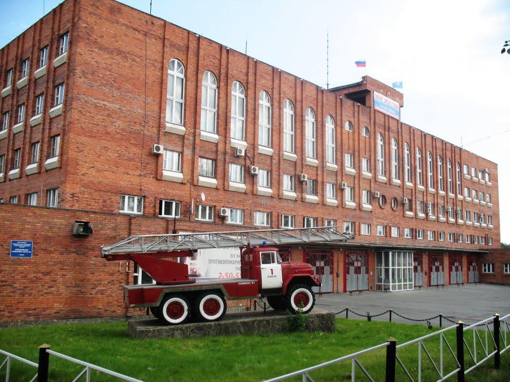 Fire station, Озерск