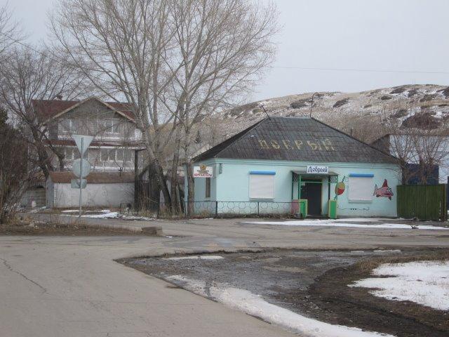 Перекресток на ул. Дорожной, Агаповка