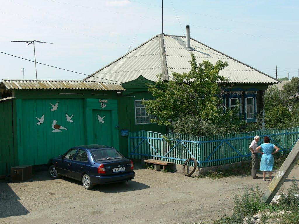 House with pigeons, Аргаяш