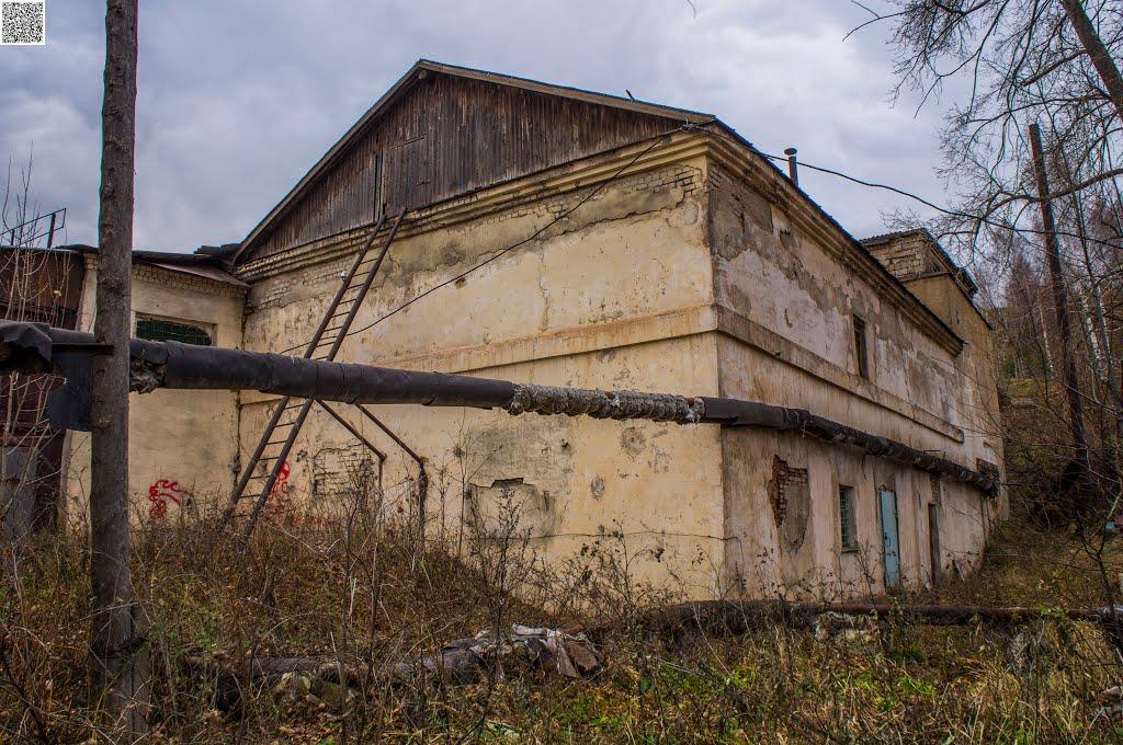 Bakal, ulitsa Lenina, building, Бакал