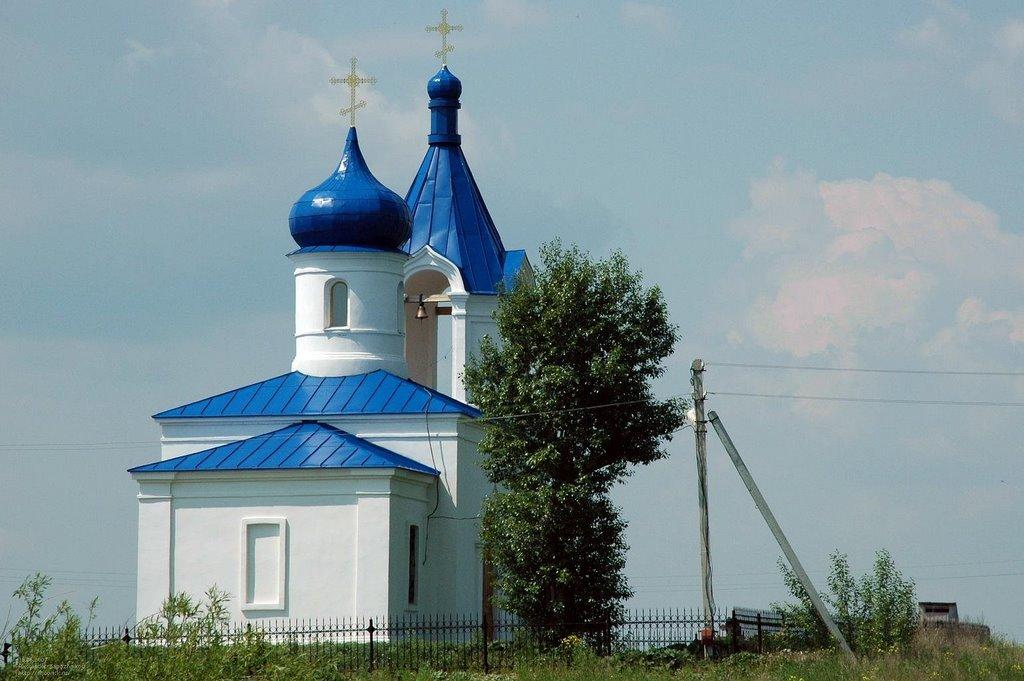 Церковь в селе Большие Харлуши / Church in Bolshie Kharlushi, Бреды
