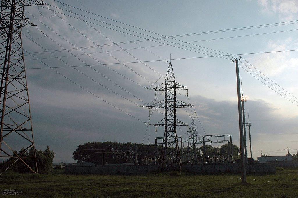 Подстанция / Power substation, Бреды