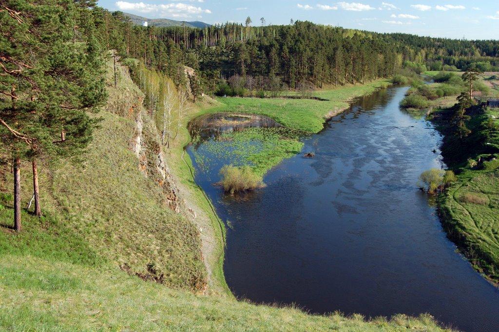река Миасс/Miass river, Бреды