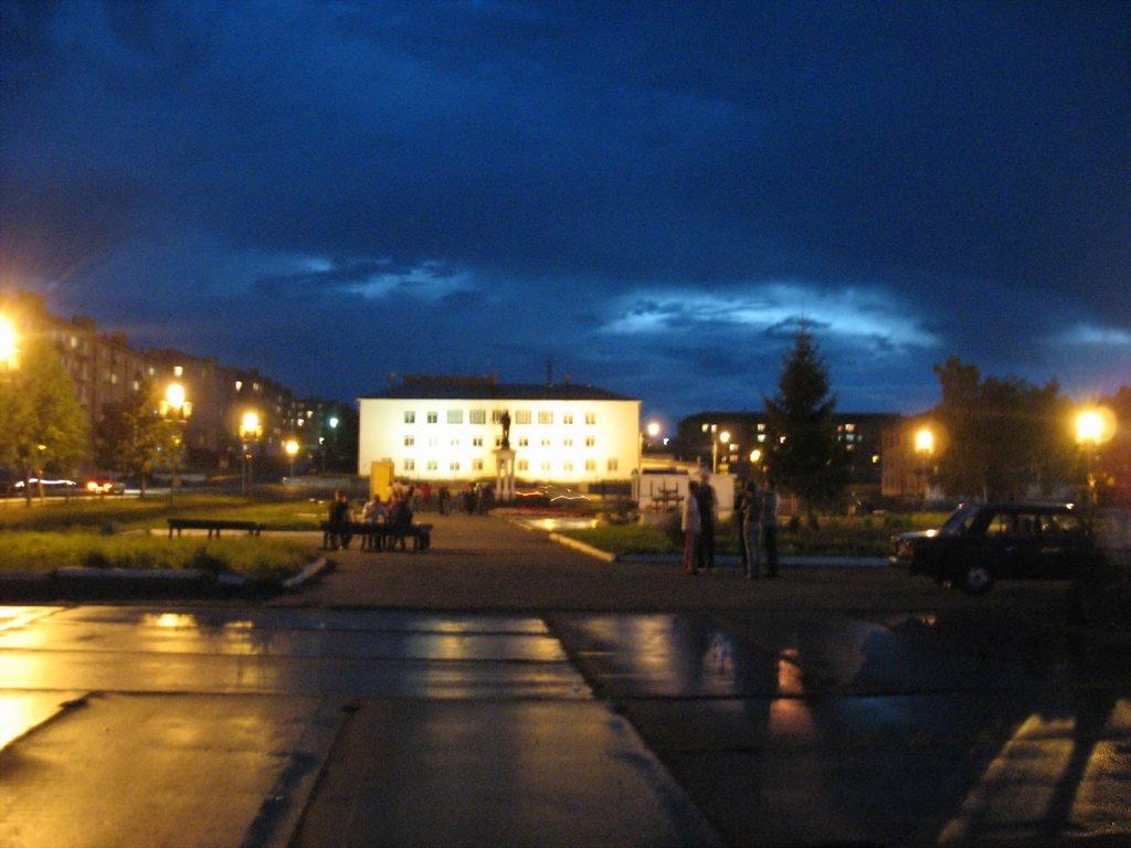 Вечерняя площадь, Верхний Уфалей