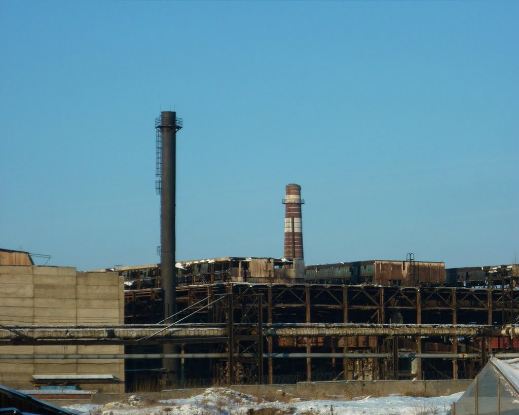 Руины завода, Верхний Уфалей