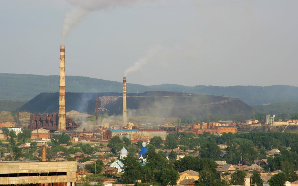 Ufaley. Nickel Plant, Верхний Уфалей