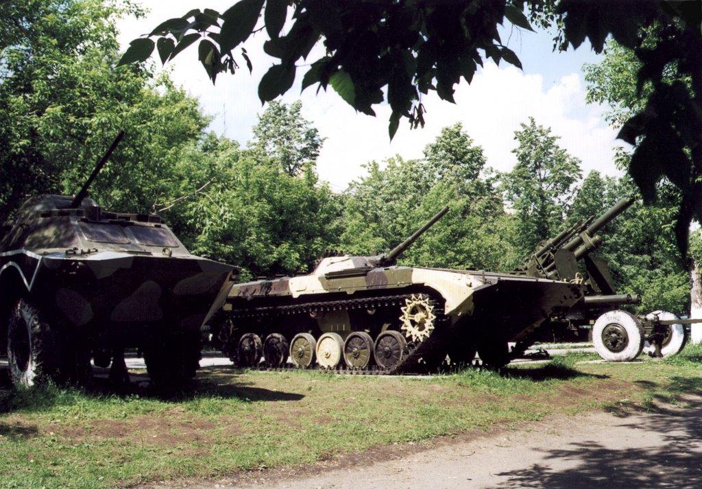 Музей Военной Техники, Верхний Уфалей