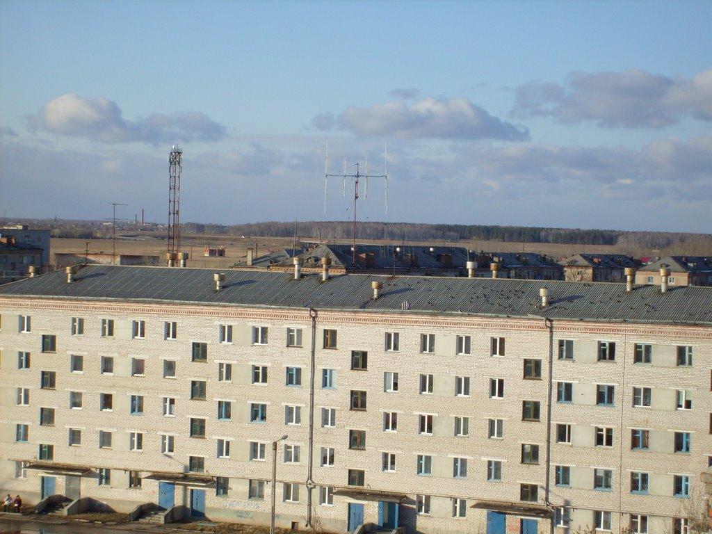 Emanshelinsk. Antenna, Еманжелинск