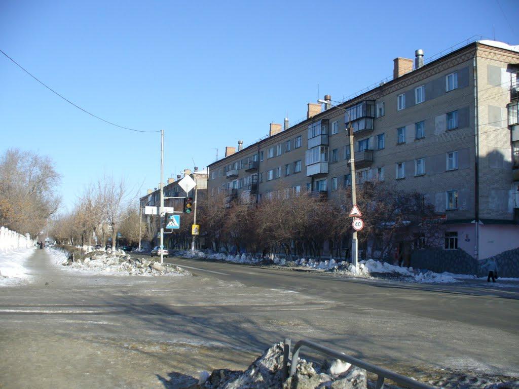 ул Гагарина, Еманжелинск