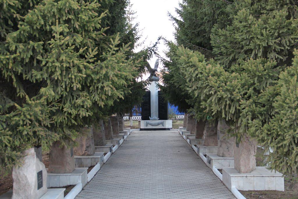 погибшим воинам интернационалистам, Еманжелинск