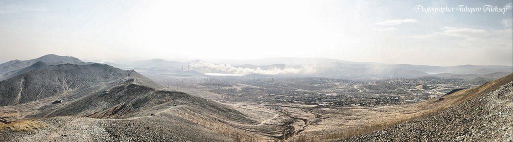 Мертвые горы Карабаша, Карабаш