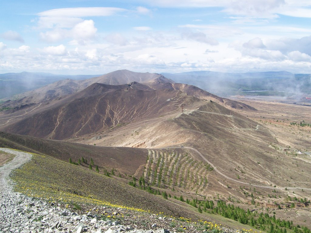 Золотая гора / Gold mountain, Карабаш