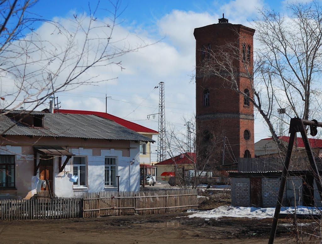 Карталы, водонапорная башня, Карталы