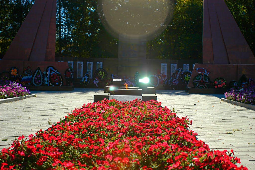 Мемориал ВОВ, Карталы