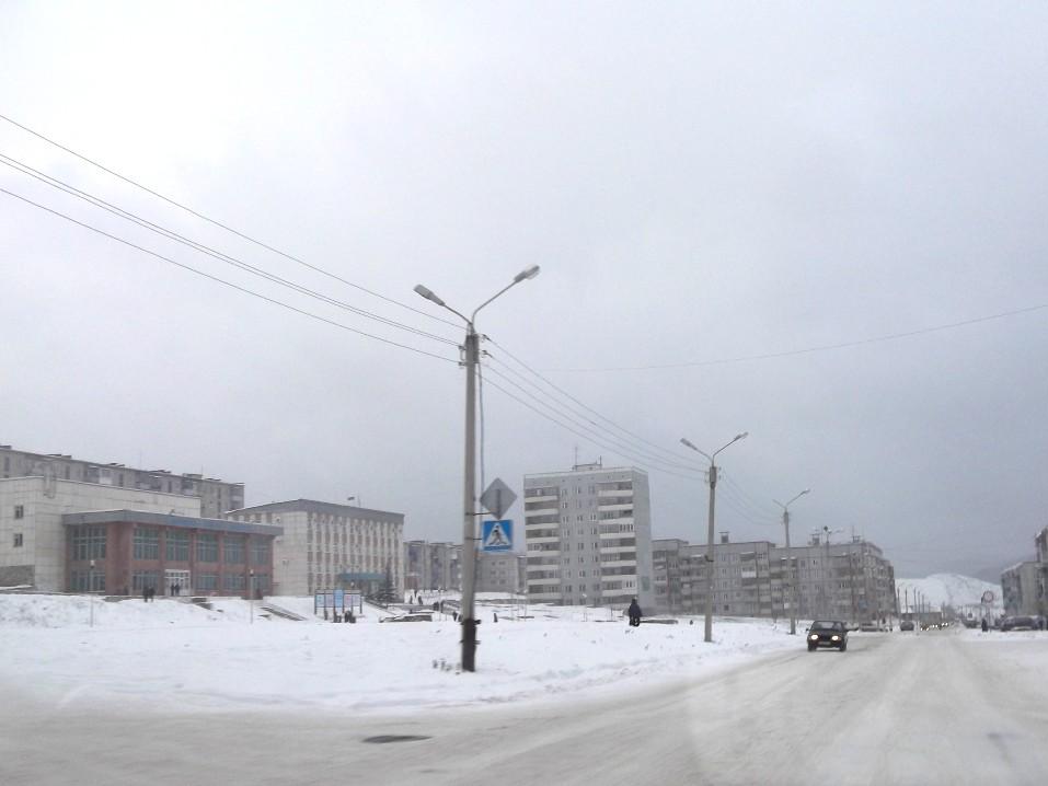 Вид на центральную площадь, Катав-Ивановск