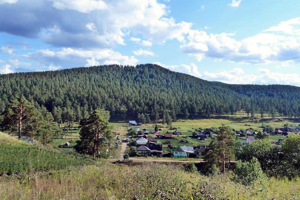 Куса - Коноплянка. Вид на холмы., Куса