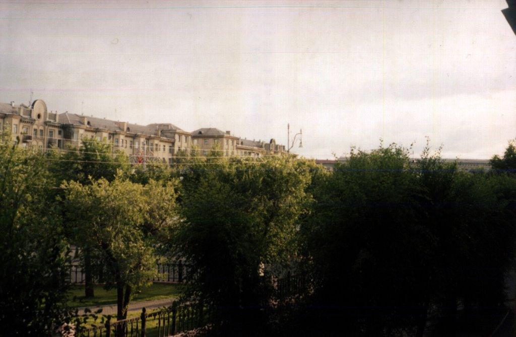 Вид из дома №12, Магнитогорск