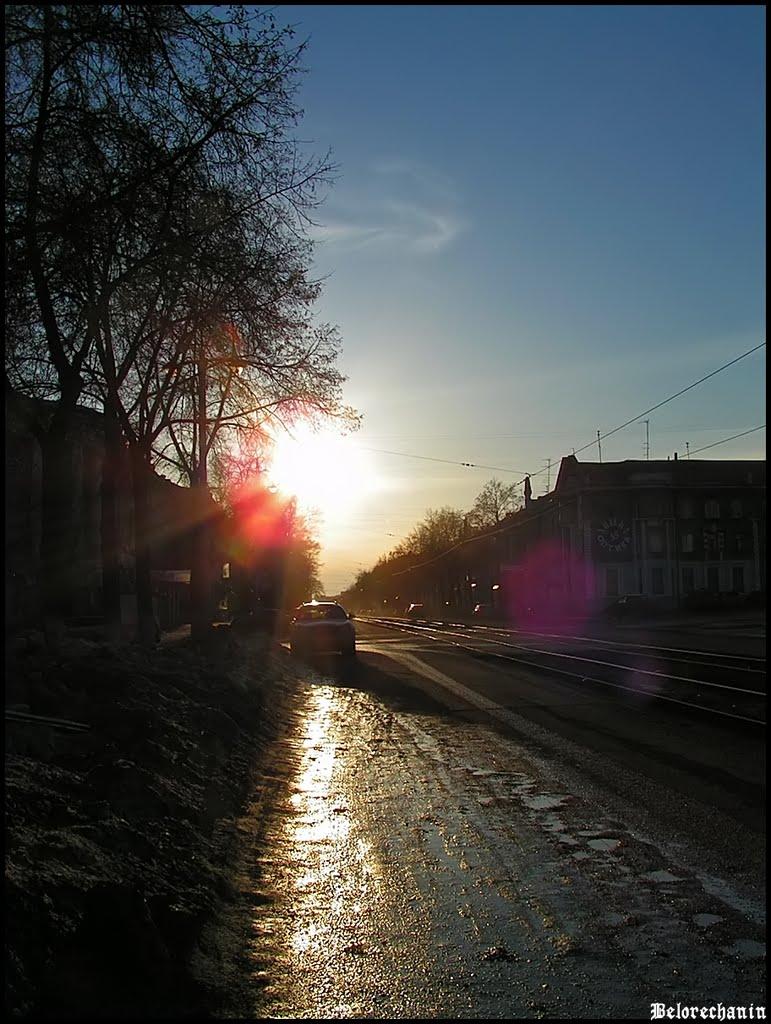 Вечерняя Комсомольская (Evening Komsomolskaya), Магнитогорск