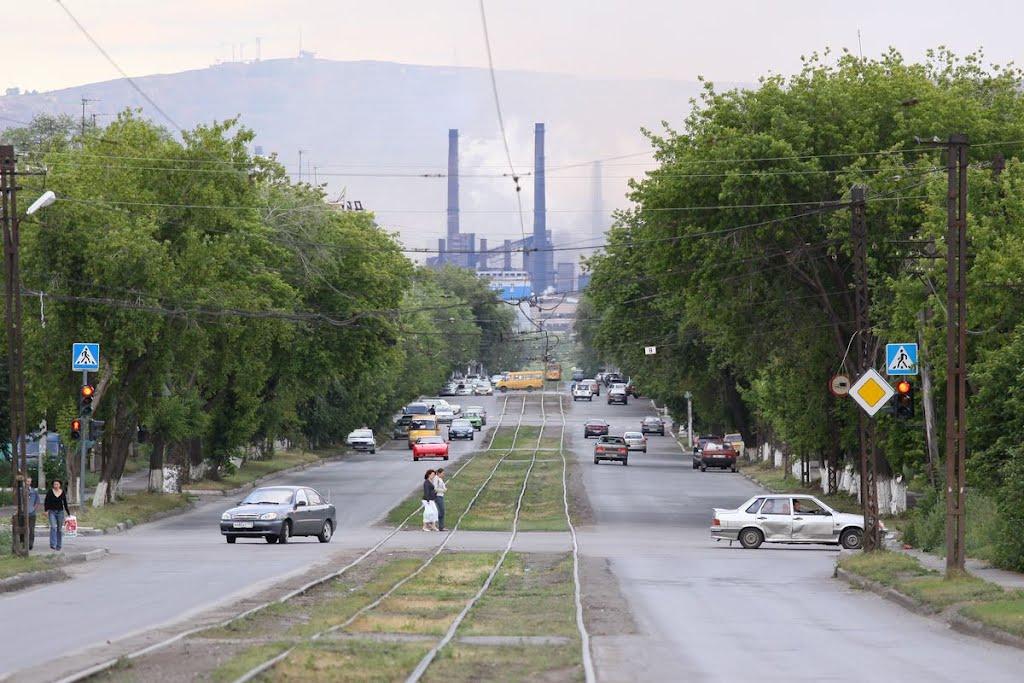 Улица Комсомольская, Магнитогорск