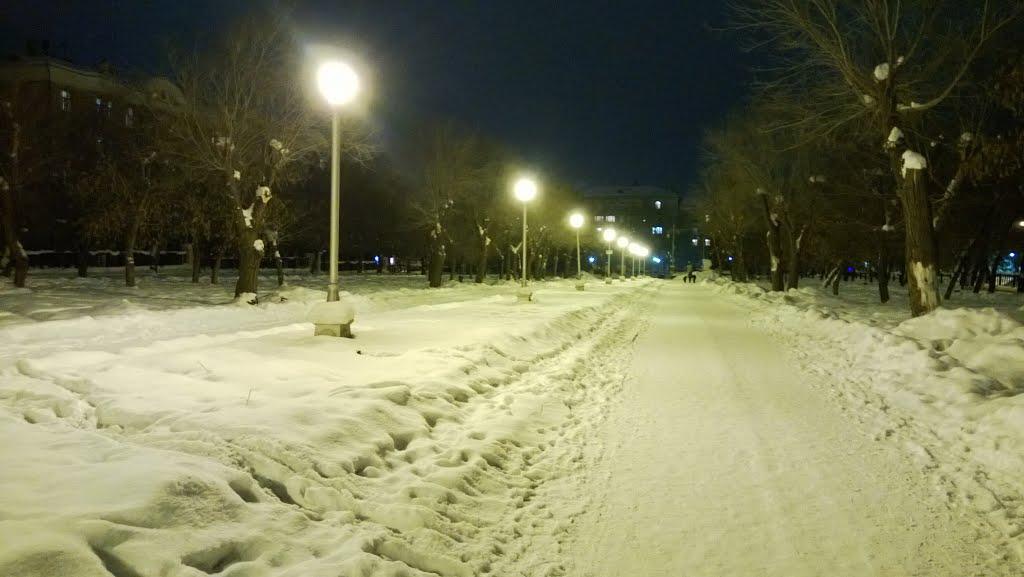 Парк пр. Металлургов, Магнитогорск