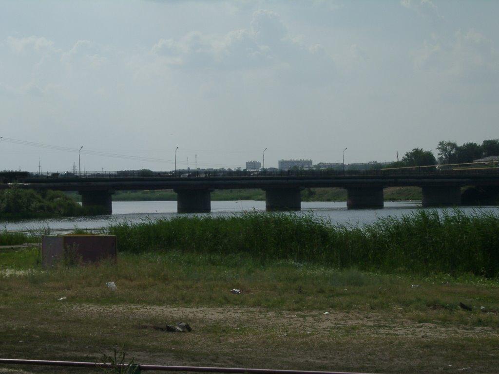 мост через реку Уй, Троицк
