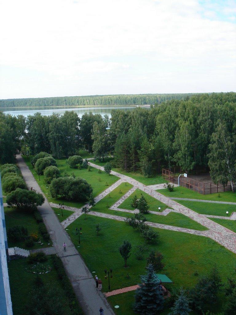 Podbornoe lake, Увельский