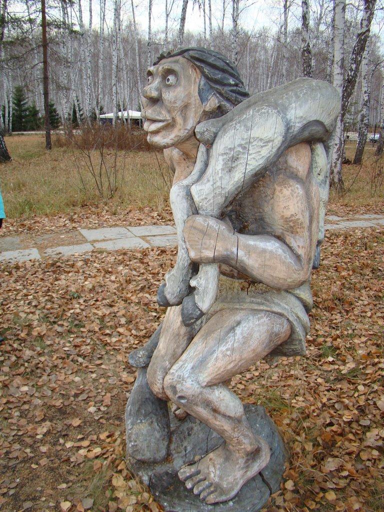 Древний человек (Санаторий Урал 01.11.09), Увельский