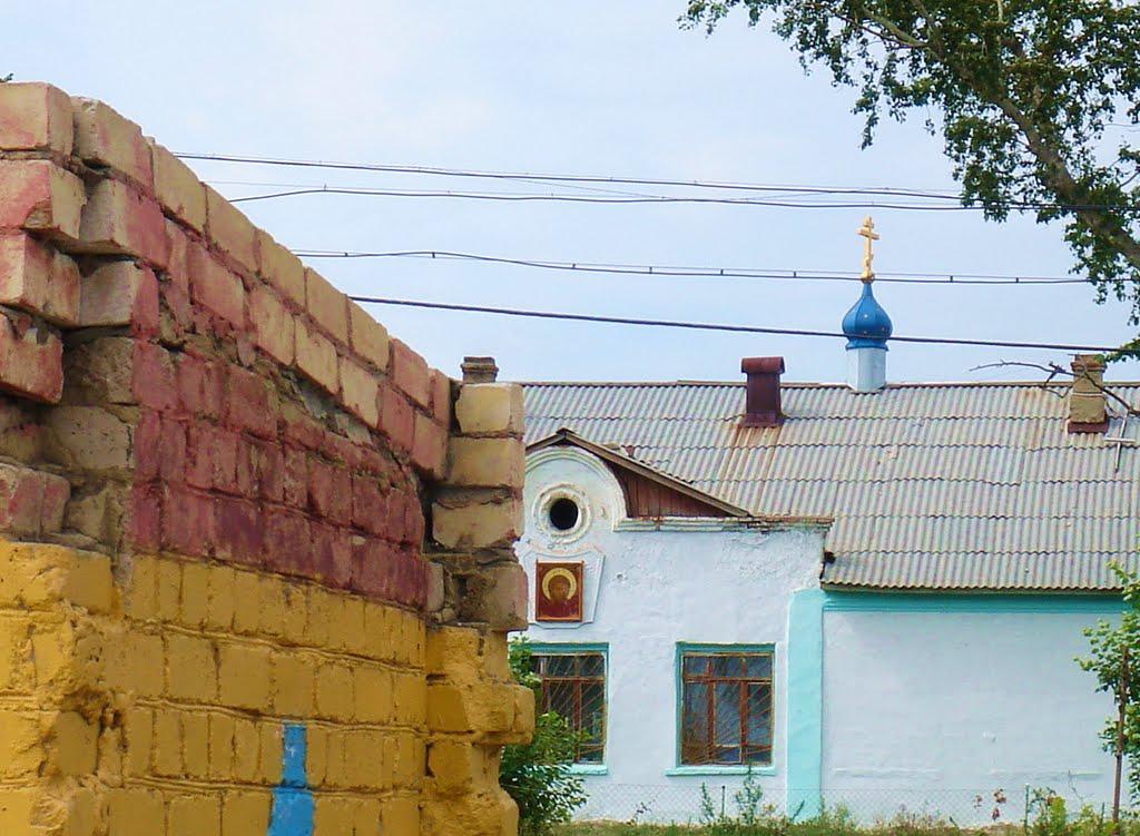 Homutinino Church, Увельский