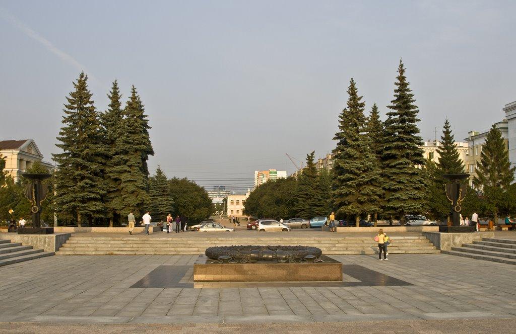 Chelyabinsk, Eternal Flame, Aug-2008, Челябинск