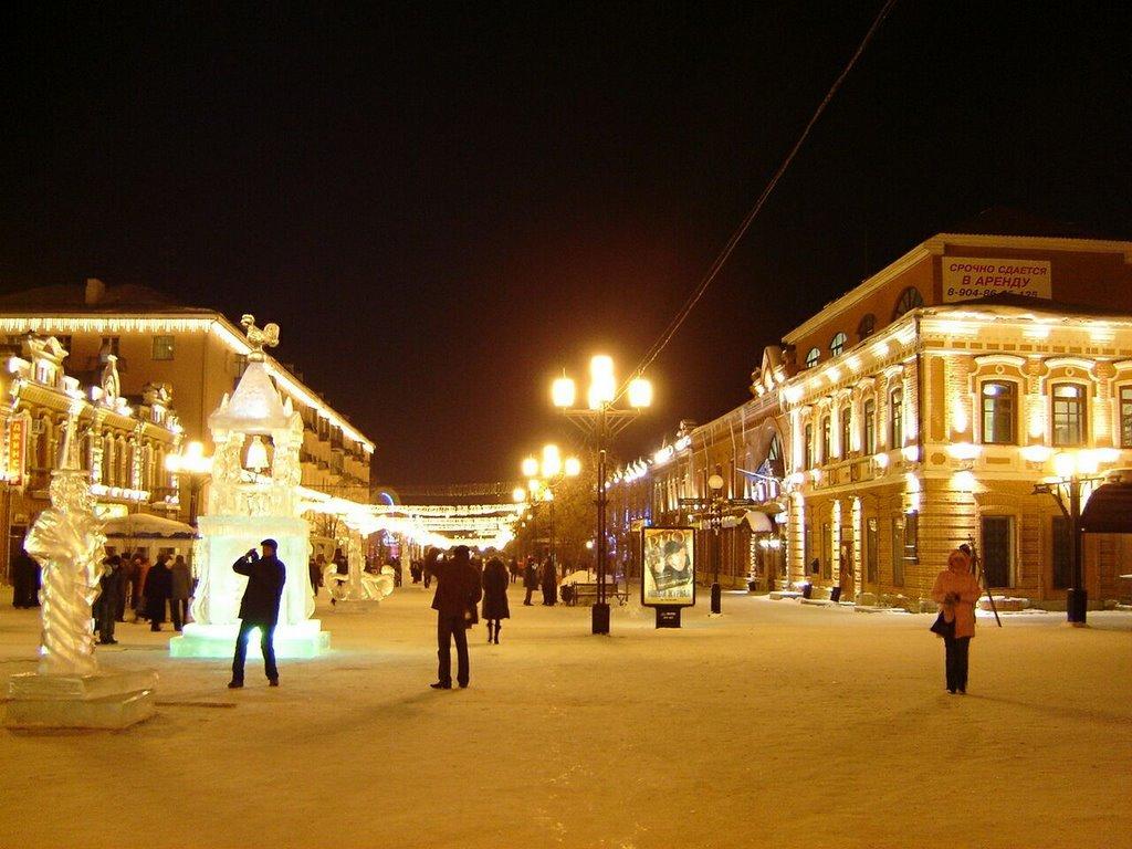 kirovka_night03, Челябинск