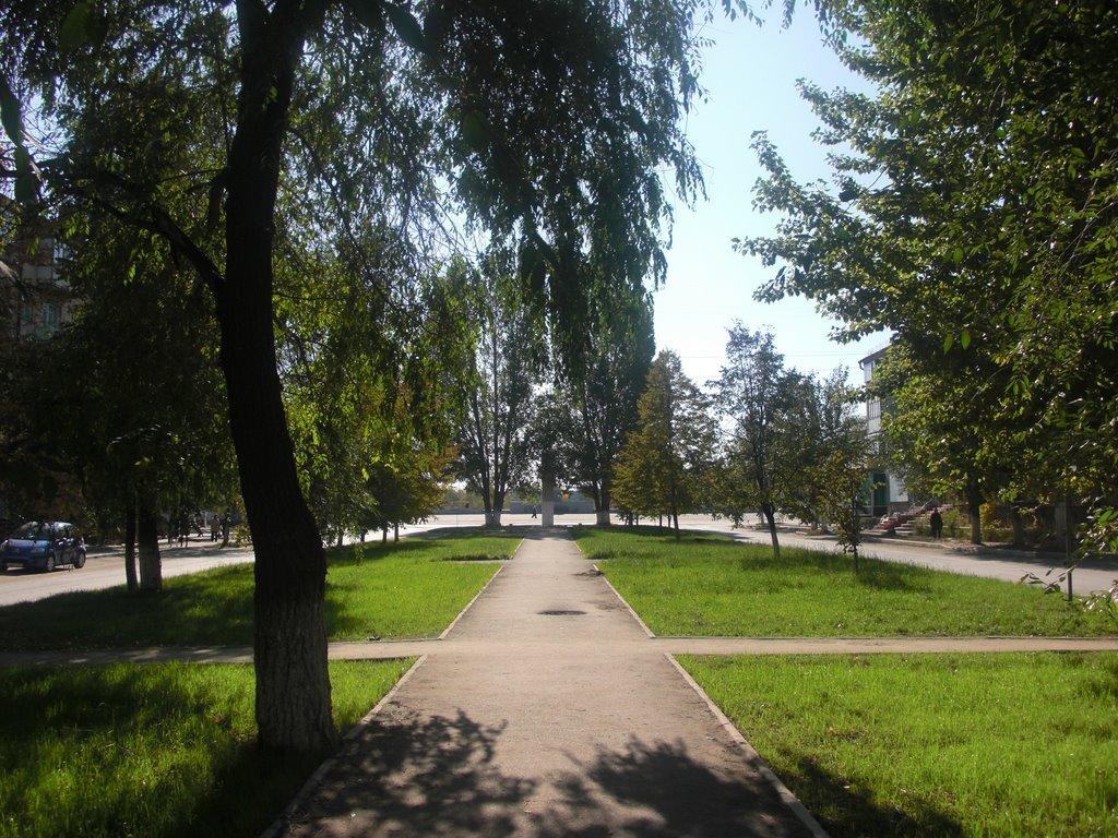 Сквер по ул.Космонавтов, Южно-Уральск
