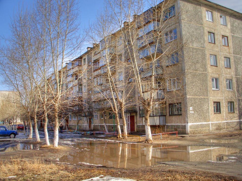Весеннее отражение, Южно-Уральск