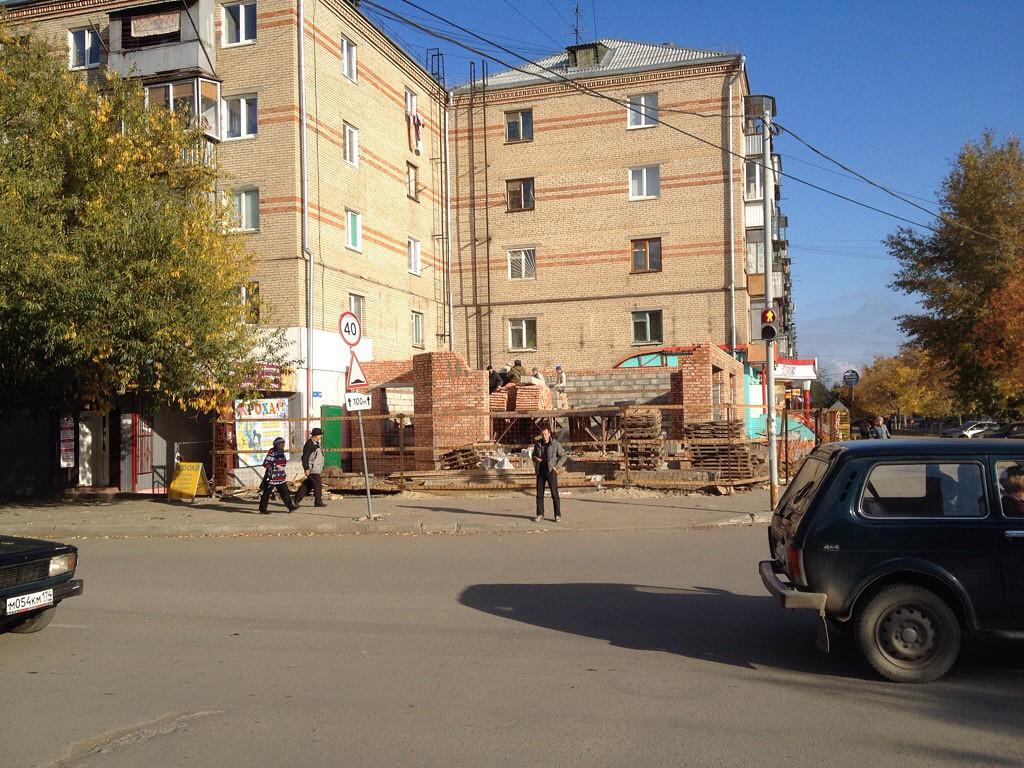 Южноуральск ул. Мира. 2013, Южно-Уральск