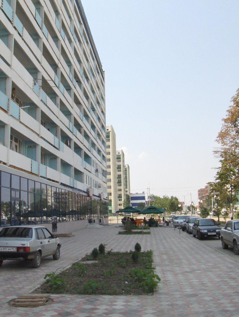 Улица Ленина, Грозный, Июль 2007, Грозный