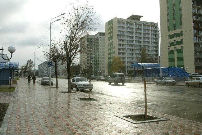 Lenin Street, Грозный